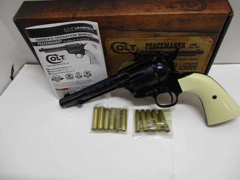 Umarex Colt Peacemaker BB Revolver w/17 Bullets, Original Documentation And Box