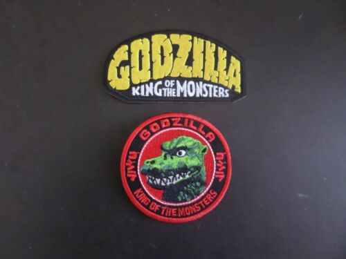 LOT OF 29 GODZILLA KING OF MONSTERS  EMROIDERED IRON ON PATCHES