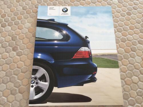 BMW OFFICIAL 5 SERIES 535xi SPORTS WAGON PRESTIGE SALES BROCHURE 2008 USA Ed