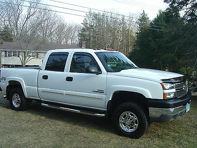 2005 chevy silverado ls 2500 hd duramax diesel crew cab used chevrolet silverado 2500 for sale. Black Bedroom Furniture Sets. Home Design Ideas