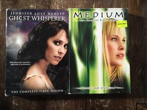 Ghost whisperer and medium season 1 dvds