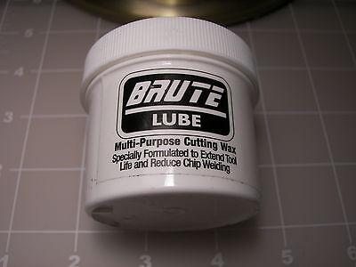 Brute Lube Metal Cutting, Drilling Wax, Grease. Multi Purpos