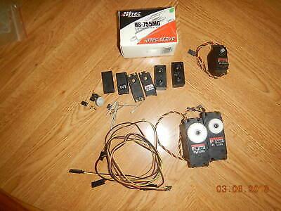 Hi Tec Servo motors Hobby Remote Control