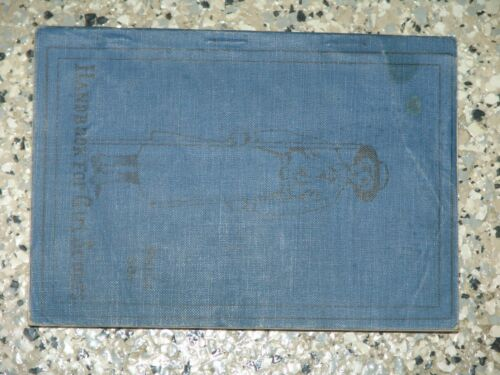 1917 Handbook for Girl Scouts - vgood condition - softbound edition