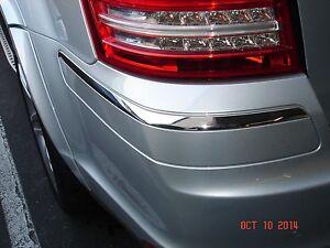 Mercedes benz gl class genuine rear bumper left chrome for Mercedes benz gl450 chrome accessories