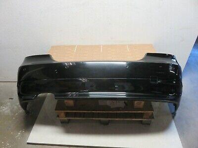 04-07 BMW E60 525i 530i 550i REAR BUMPER COVER BLACK OEM