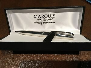 Waterford Marquis silver pen