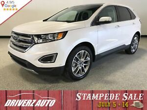 2017 Ford Edge Titanium AWD LOADED WITH PARK ASSIST