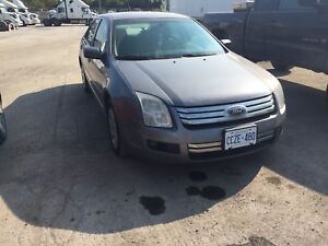 2007 Ford Fusion SE Safetied & Etested