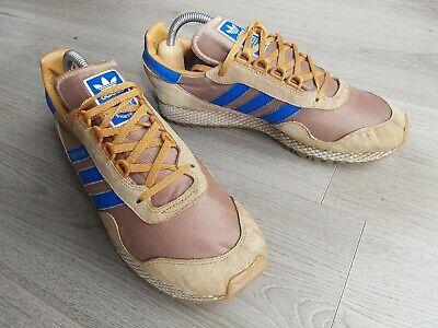 Adidas New York Mens UK Size 9 Vintage Brown