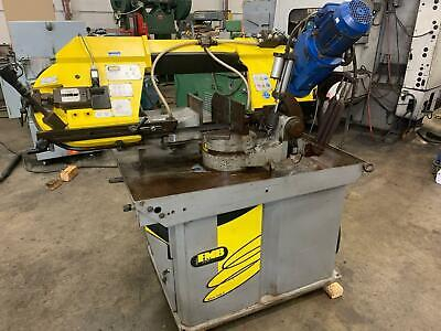 2006 Fmb Titan Gv 10-14 Variable Speed Miter Horizontal Band Saw Hydraulic