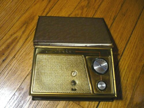 "1950s CROSLEY AM BOOK TUBE RADIO MODEL JM-8BN ""AS YOU LIKE IT"""
