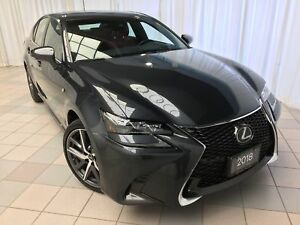 2018 Lexus GS 350 F Sport Series 2 Package: Dash Cam, Hood Tape