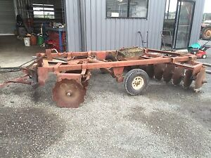 20 plate international disc plough good set ready to work Mullumbimby Byron Area Preview