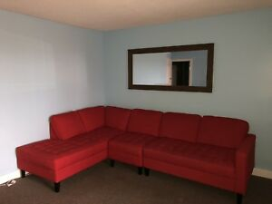 3 piece left facing sectional purchased in 2017