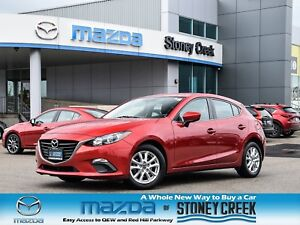 2015 Mazda Mazda3 GS Heated Seats Rear Cam Cruise B/T Alloy