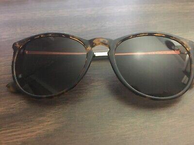 SUNGAIT Vintage Round Sunglasses For Women Tortoise Shell 1567 c2 52-20 (Sungait Sunglasses)