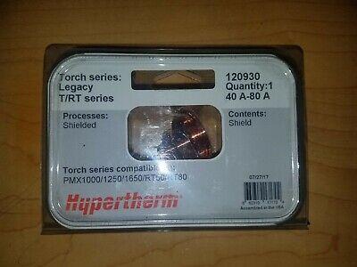 Hypertherm 120930 Shield Pmx 100012501650rt60rt80 Qty.1