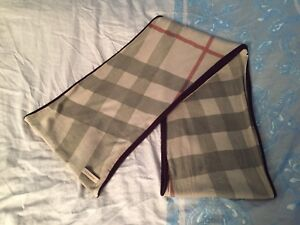 Burberry cashmere reversible scarf - $250
