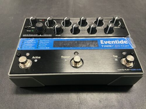 Eventide TimeFactor Delay Multi-Effects Guitar Pedal  w/box power supply