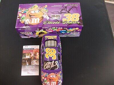 &M/HALLOWEEN SIGNED 2005 TAURUS RACECAR JSA COA (Elliott Halloween)