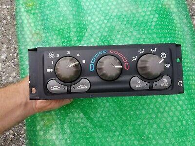 Pontiac Montana OLDS SILHOUETTE AZTEK Heater A/C Climate Control 01-05 (2002 Pontiac Aztek Control)