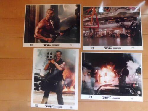 Arnold Schwarzenegger COMMANDO Lobby card set movie japan #2