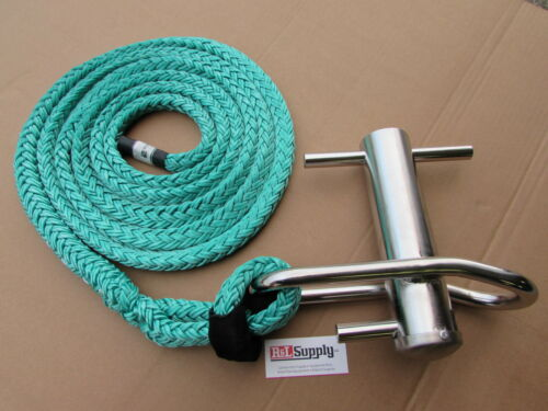 """NOTCH LARGE STAINLESS STEEL PORT A WRAP W/ 3/4"""" X 16FT EYE SLING - ARBORIST RIG"""