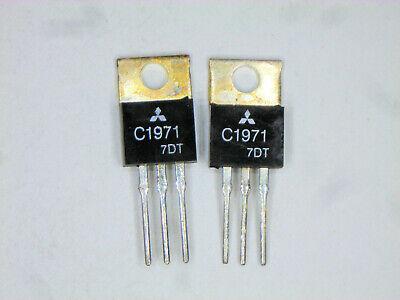 2sc1971 Mitsubishi Rf Transistor 2 Pcs