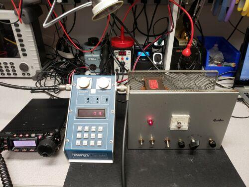 D&A Raider Linear Power Transmitter Tube Amplifier HAM CB - Recapped TESTED