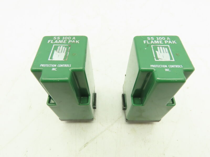 PCI Protection Controls SS 100A Protectifier Flame Pak Relay 2-4 Sec  LOT OF 2