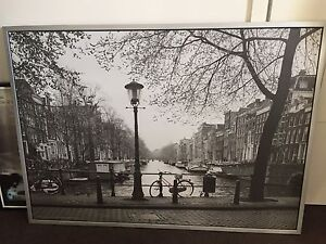 Large print of Amsterdam from IKEA. 140cm x 100 cm. Mosman Mosman Area Preview