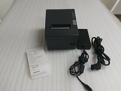 Epson Tm-t88iv M129h Thermal Pos Point Of Sale Receipt Printer Wac Adapter