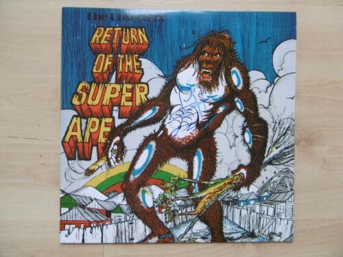 "Lee Scratch Perry Autogramm signed LP-Cover ""Return Of The Super Ape"" Vinyl"