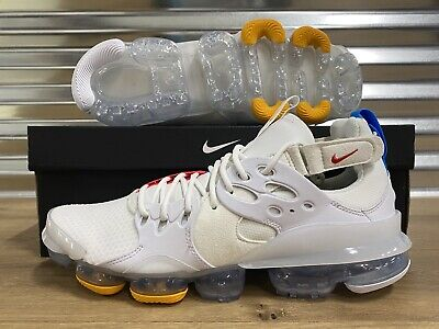 Nike Air DSVM Vapormax Running Shoes Summit White Red D/MS/X SZ ( AT8179-100 )