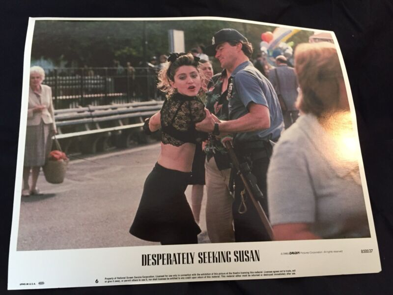 Madonna - Desperately Seeking Susan Lobby Card