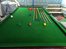 POOL TABLE AND TABLE TENNIS Endeavour Hills Casey Area Preview