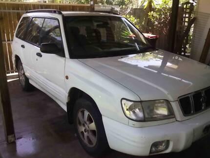 2002 Subaru Forester Wagon Brisbane City Brisbane North West Preview