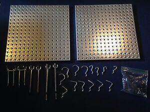IKEA metal pegboard