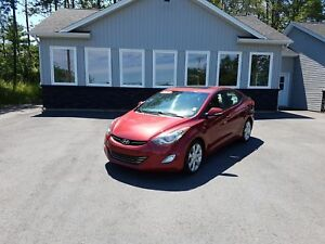 2013 Hyundai Elantra Limited LOADED! Leather! Clean!