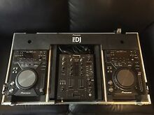 PIONEER CDJ 400 X 2 PIONEER DJM 400 LIMITED EDITION & ROAD CASE Glebe Hobart City Preview