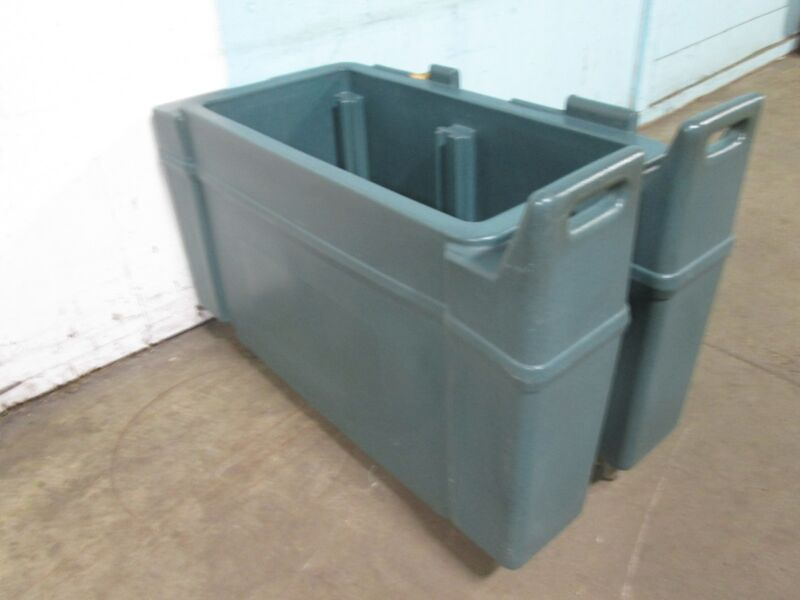 """""""CAMBRO-CAMCHILLER CART CPC13134"""" COMMERCIAL H.D. POLY CART/COLD FOOD CARRIER"""
