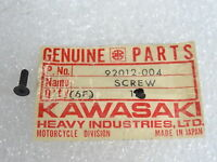 Kawasaki NOS NEW 92011-010 Switch Case Screw W1 W2 A1 A7 W1SS W2SS W2TT 1966-71