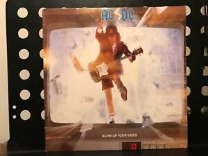 ACDC VINYL RECORDS. GOOD CONDITION. ALBERTS. BLOW UP YOUR VIDEO.