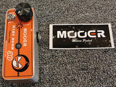 Mooer Baby Bomb 30 30 Watt Digital Guitar Power Amp Micro Effects Pedal Size ()