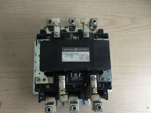 GE CR360L613 AAZ 200 AMP 3 POLE CONTACTOR