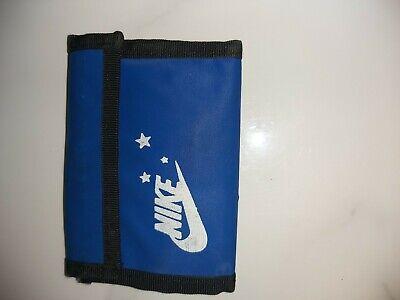 Nike Blue Wallet