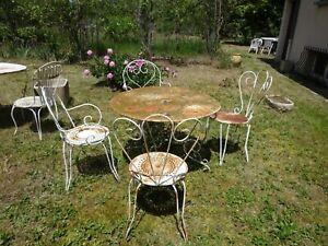 Chaise fer ancienne à vendre : acheter d\'occasion ou neuf avec ...