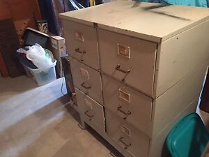Legal size filing cabinet