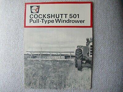 Cockshutt 501 Pull-type Windrower Brochure